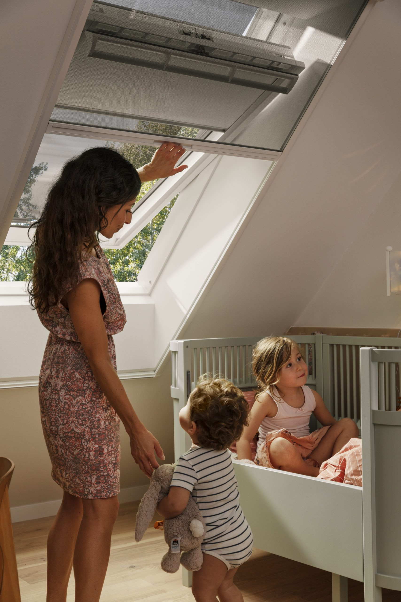 Vnitřní roleta v dětském pokoji