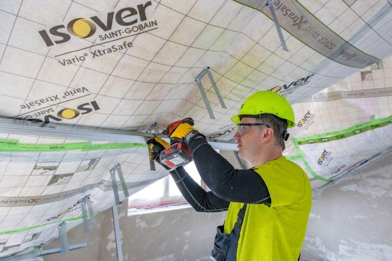 ISOVER Double Tram – novinka v zateplení šikmých střech