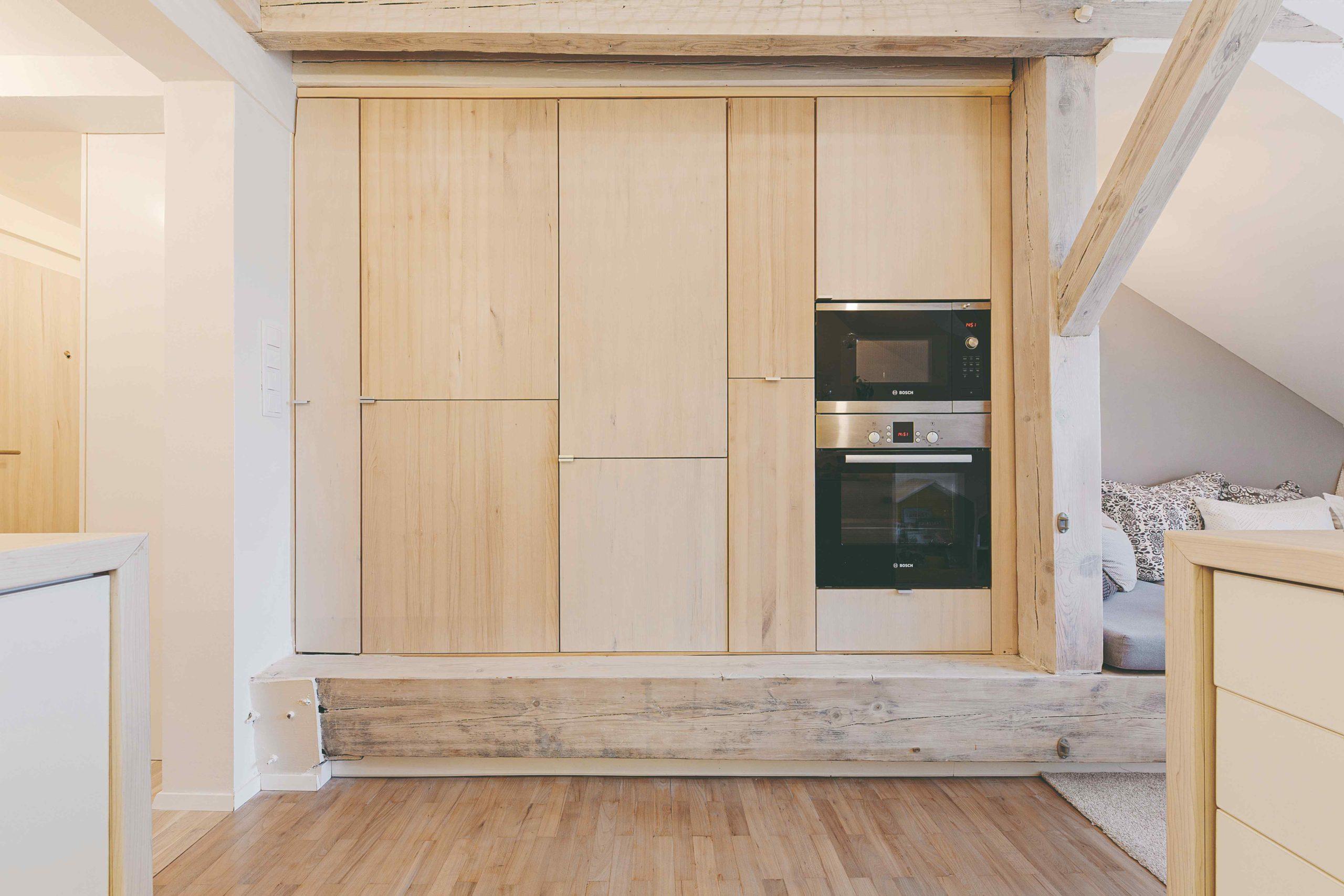 Vestavěné skříňky v kuchyni