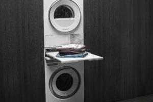 Práčka a sušička s odkladacím prostorem