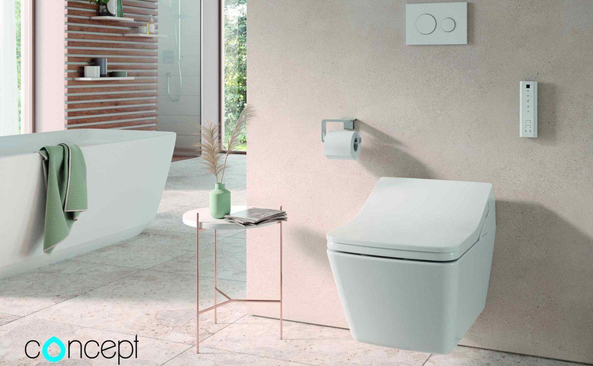 Sprchovací toalety Concept