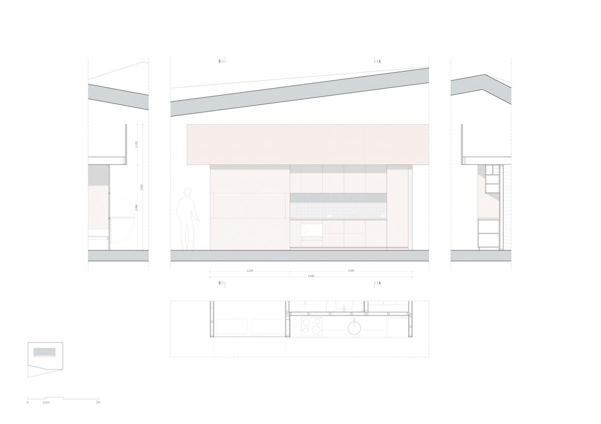 WD801 wand interieur A-A