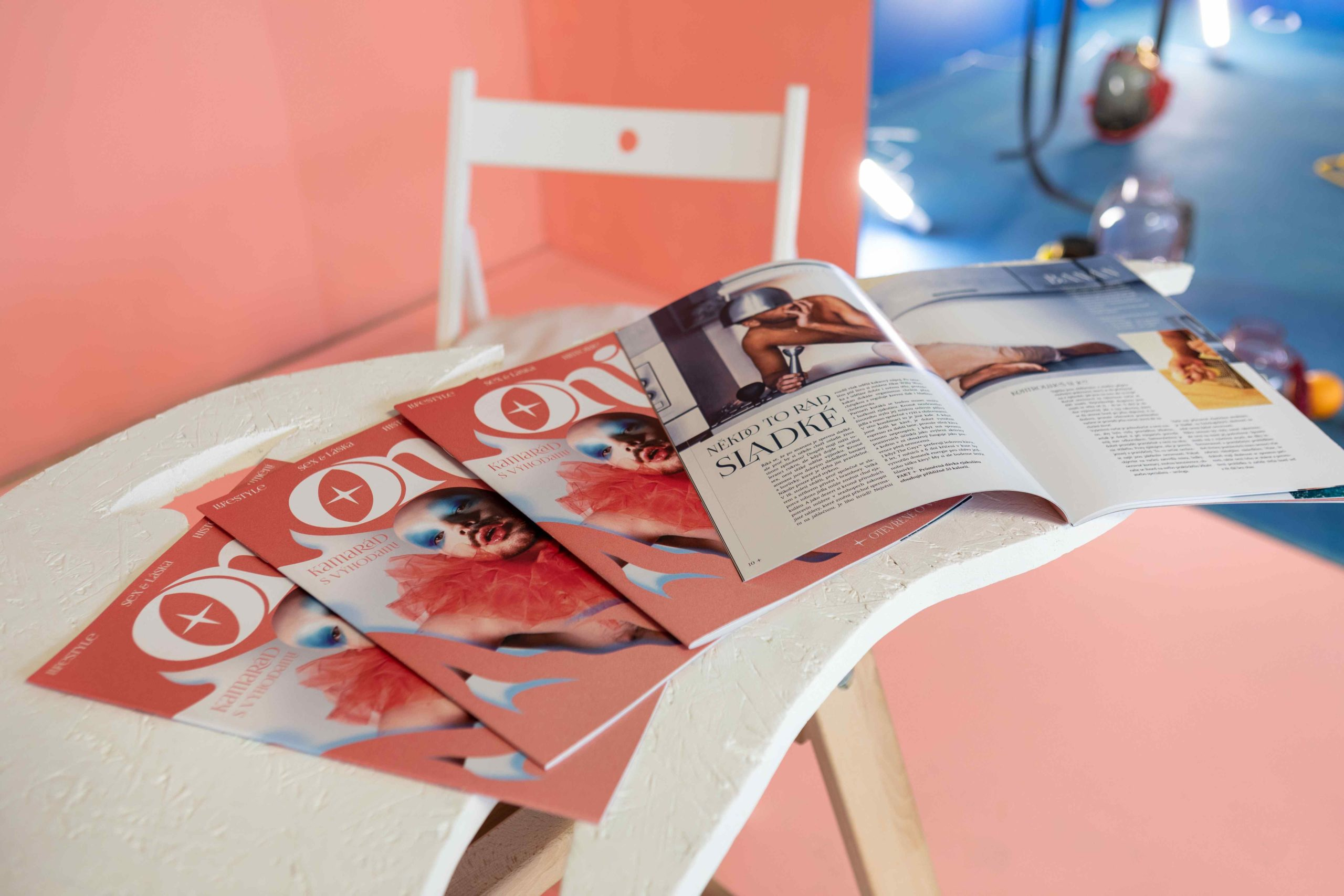 Instalace ONI magazine – Radim Pergl