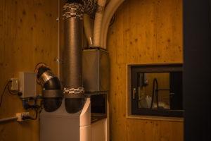 Technické zázemi v pasivním domě