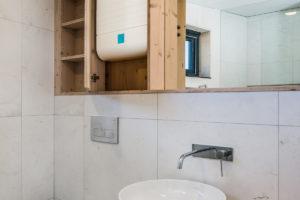 Jednoduchá koupelna víkendového domu