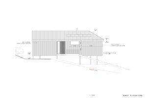 Projekt víkendového domu v Austrálii