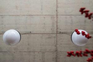 Odhalený betonový strop