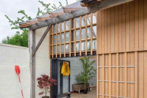 Zimná zahrada v rekonstruované stodole