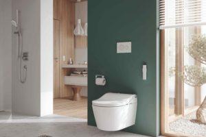 Sprchovací toaleta Concept 300 v koupelně