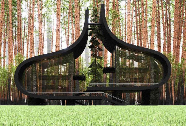 Nic podobného jste ještě neviděli! Fascinující dům, který postavili pro dvojčata