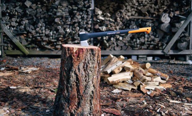 Aby vás štípání dřeva bavilo