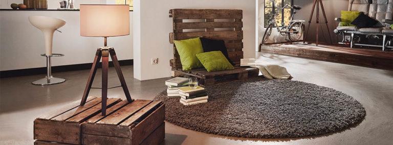 Podzimní interiér s přírodními materiály