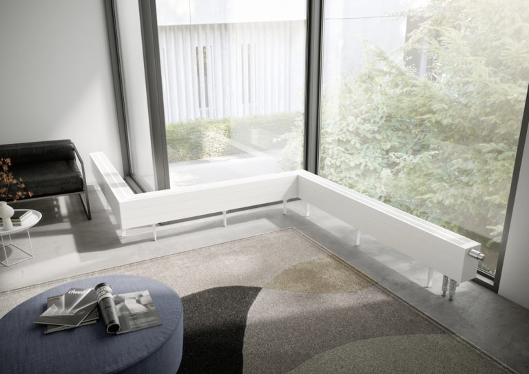 Možnosti Kermi pro vytápění prosklených ploch