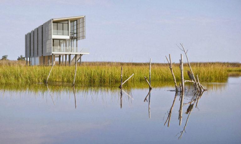 Jak by měl vypadat ideální dům do povodňové oblasti