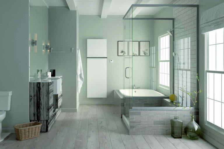 Elektrické radiátory Zehnder pro koupelny – výjimečně estetický vzhled, pohodlná regulace, úsporný provoz